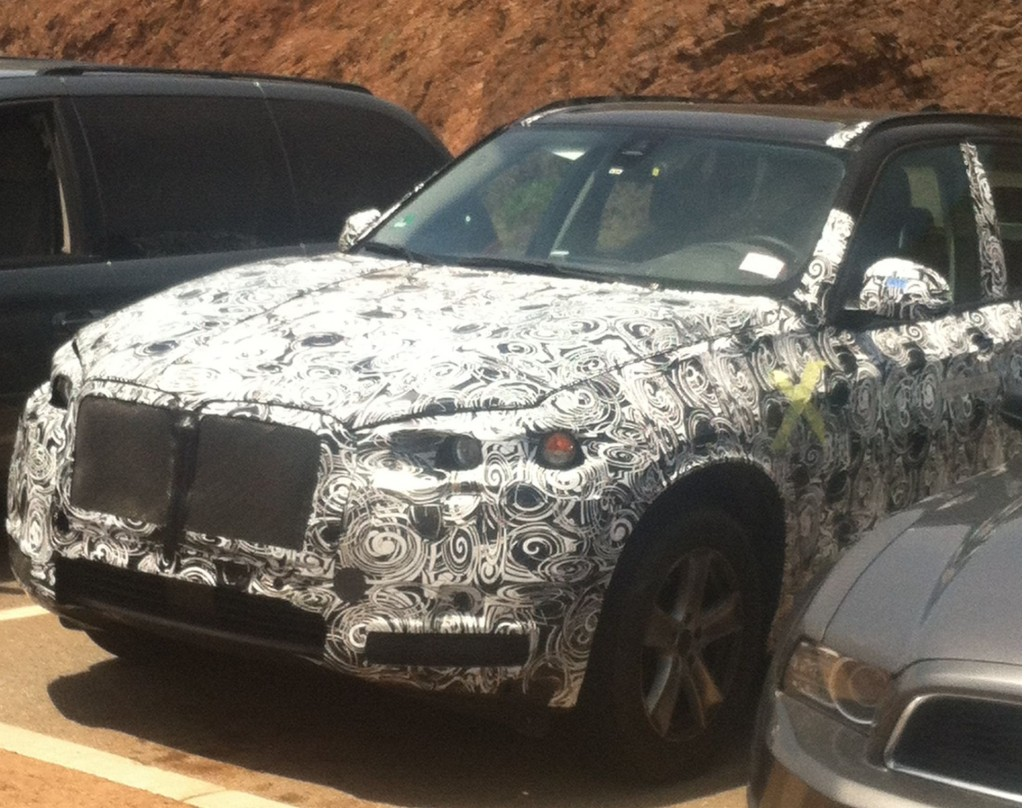 Prototype 2015 BMW ActiveHybrid X5 in San Francisco, July 2013 [photo: Alister Oliver]