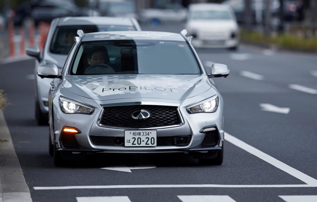 Nissan sets ambitious door-to-door goal for its self-driving cars