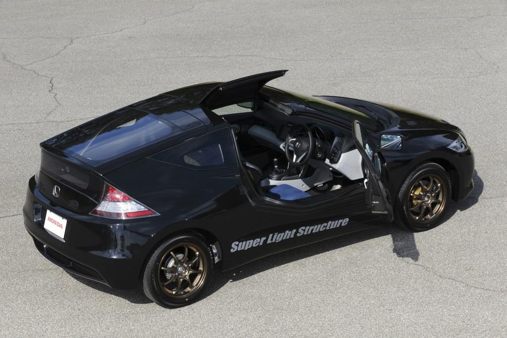 Prototype Honda Cr Z With Carbon Fiber Reinforced Plastic Body Proving Ground