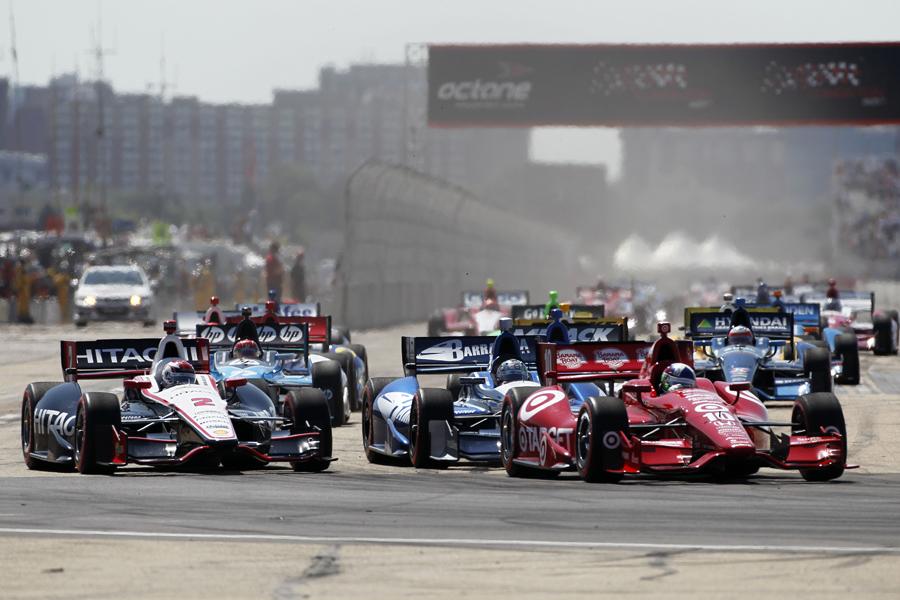 Push to Pass was used at Edmonton - IZOD IndyCar Series photo/LAT USA