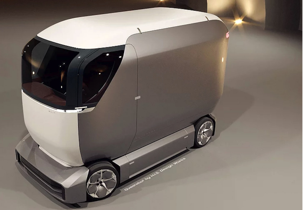 Detroit-built self-driving delivery vehicles put to the test in China