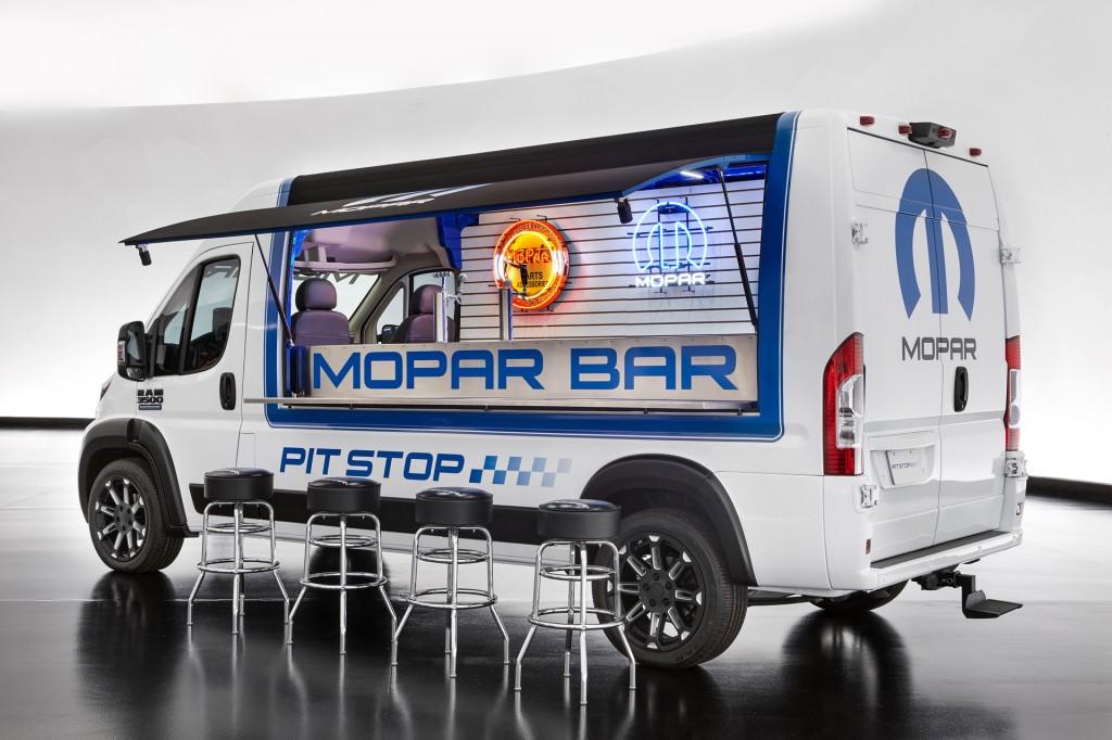 Ram ProMaster Pit Stop concept, 2016 SEMA show