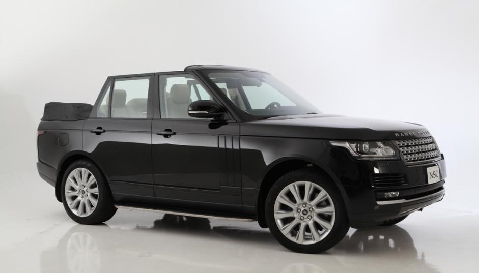Newport Drops The Top On Its Range Rover Convertible