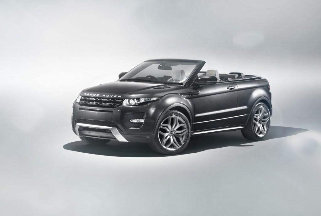 Range Rover's Evoque convertible concept.