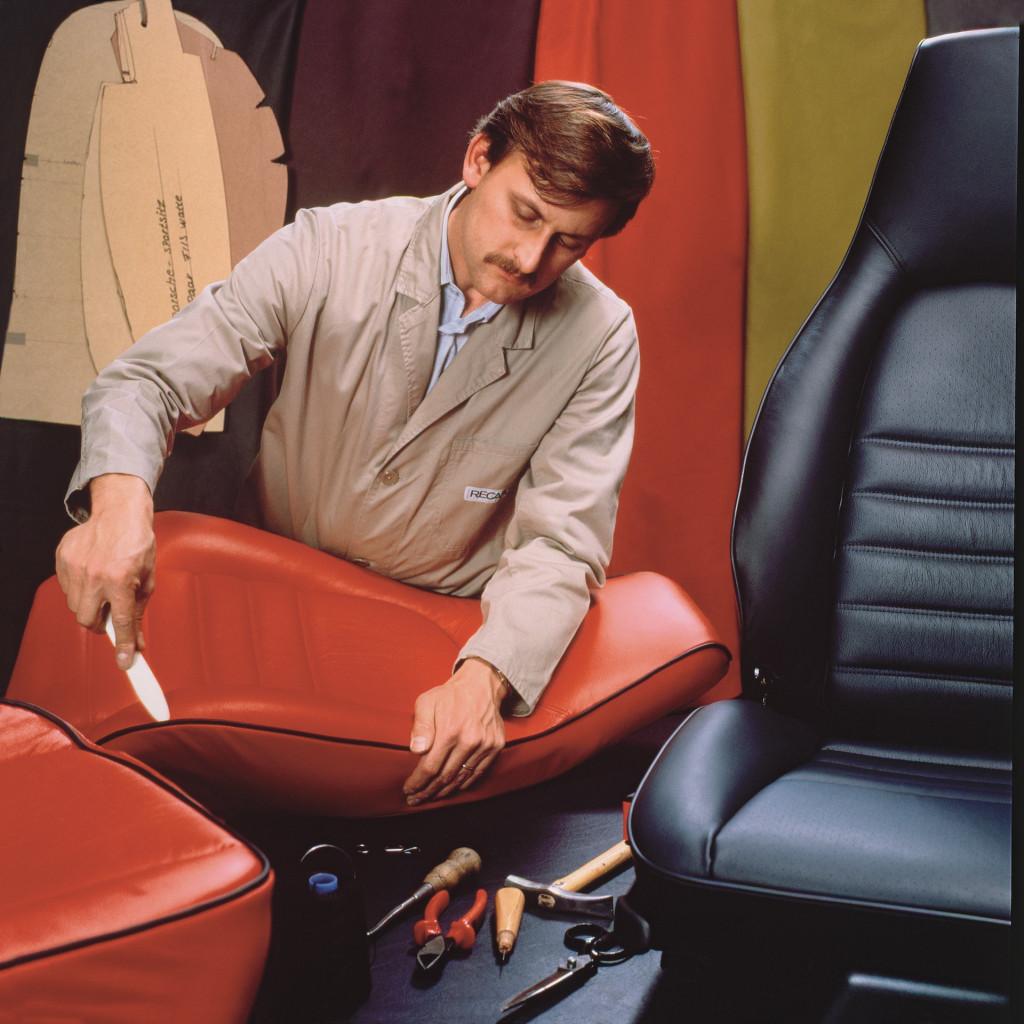 Recaro seat production in 1980