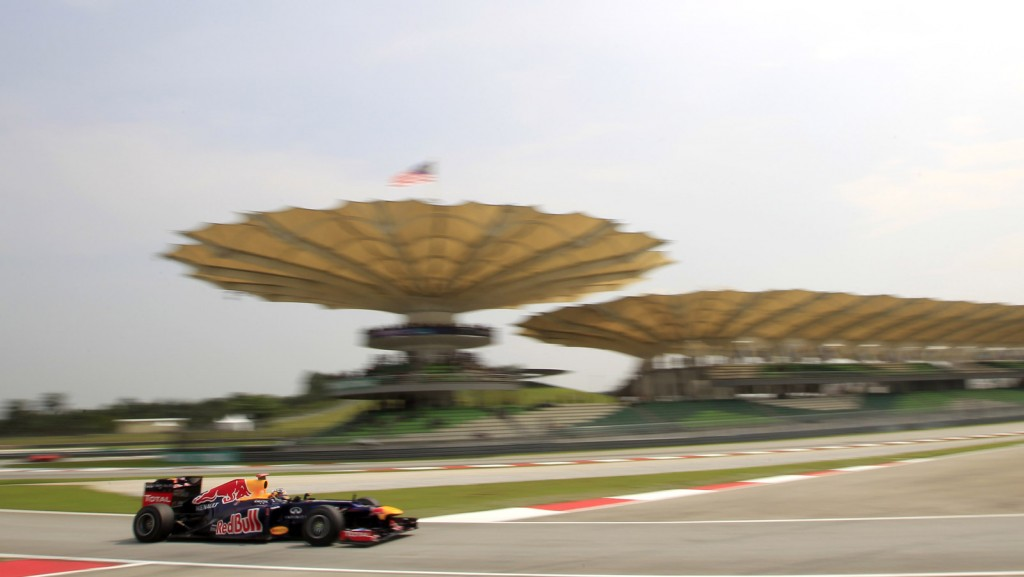 Red Bull Racing at the Malaysian Grand Prix
