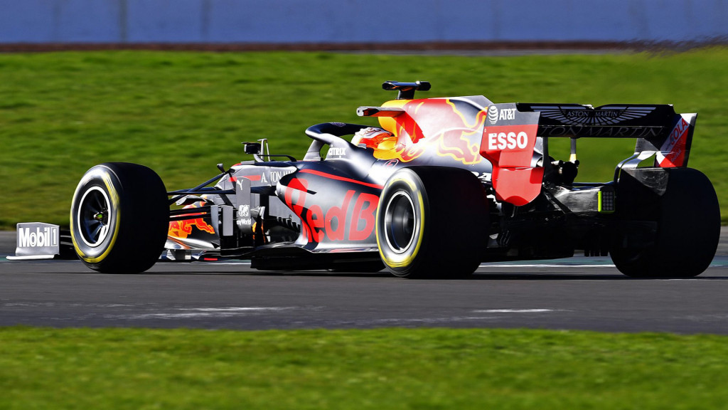 Red Bull Racing RB16 2020 Formula One race car