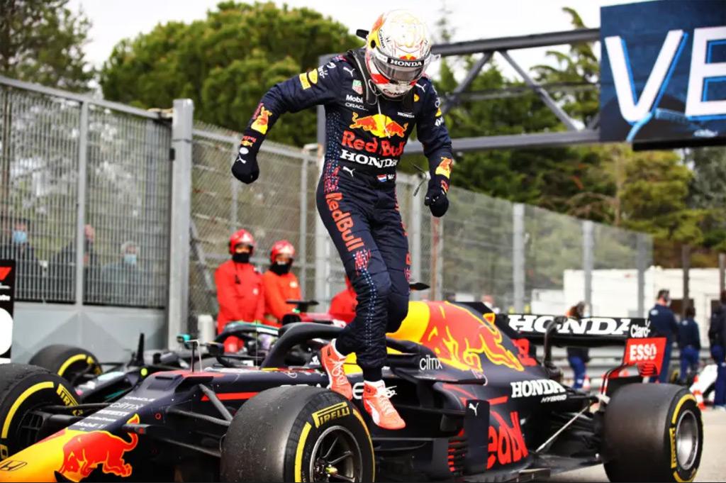 Red Bull Racing's Max Verstappen at the 2021 Formula One Emilia Romagna Grand Prix