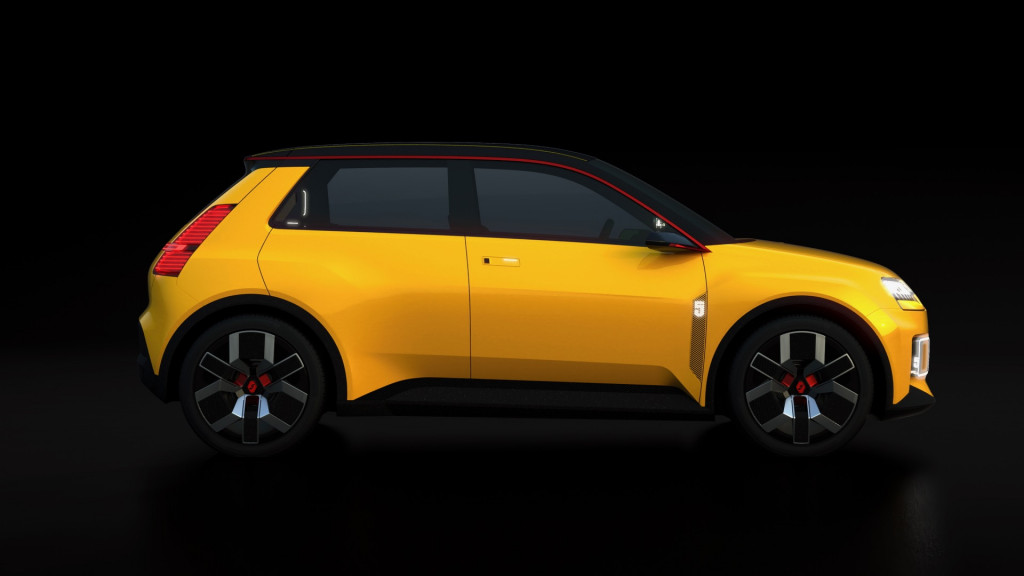 Renault 5 Prototype in Renault eWays ElectroPop presentation