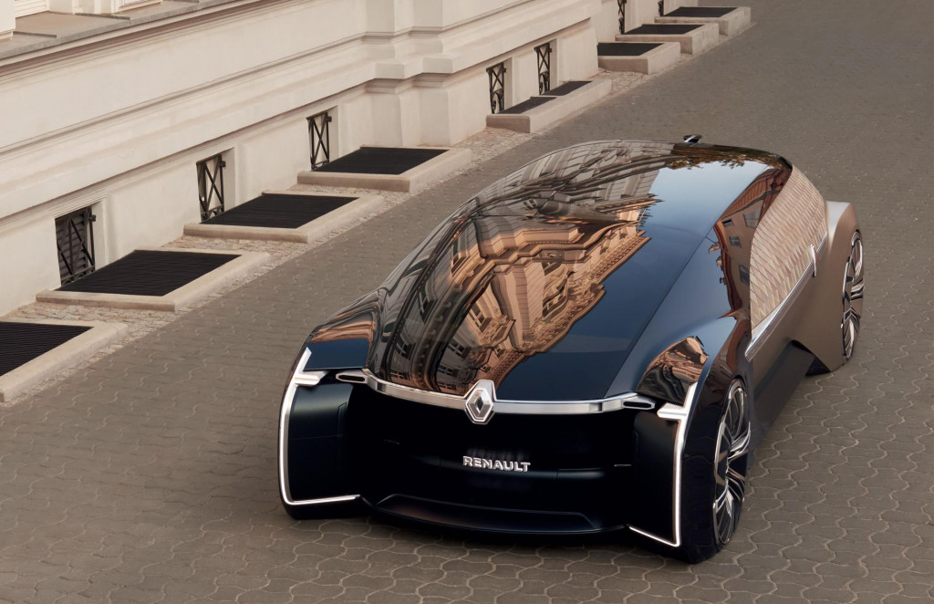 Renault EZ-Ultimo self-driving concept wants to make ride hailing more luxurious