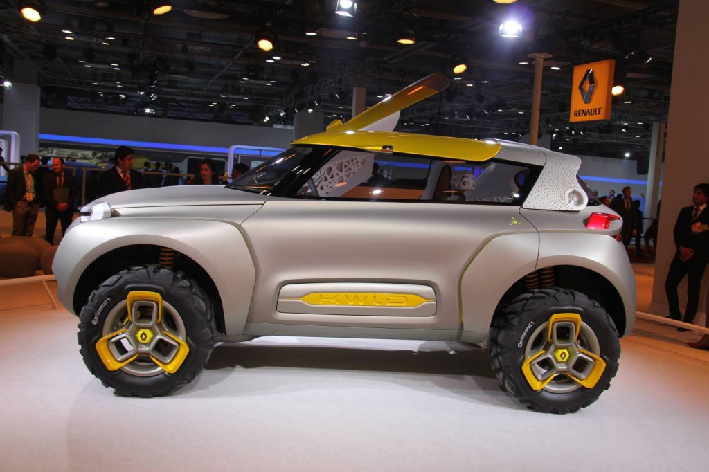 Renault Kwid concept [Photo courtesy of MotorBeam].