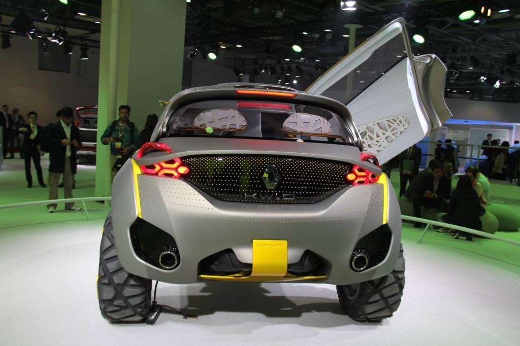 Renault Kwid concept [Photo courtesy of MotorBeam].