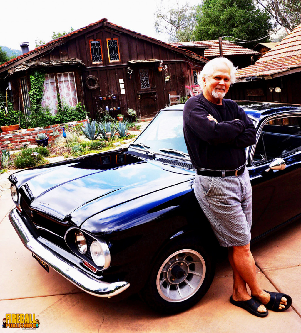 Reunited: Dow and his '62 Corvair | Fireball photo