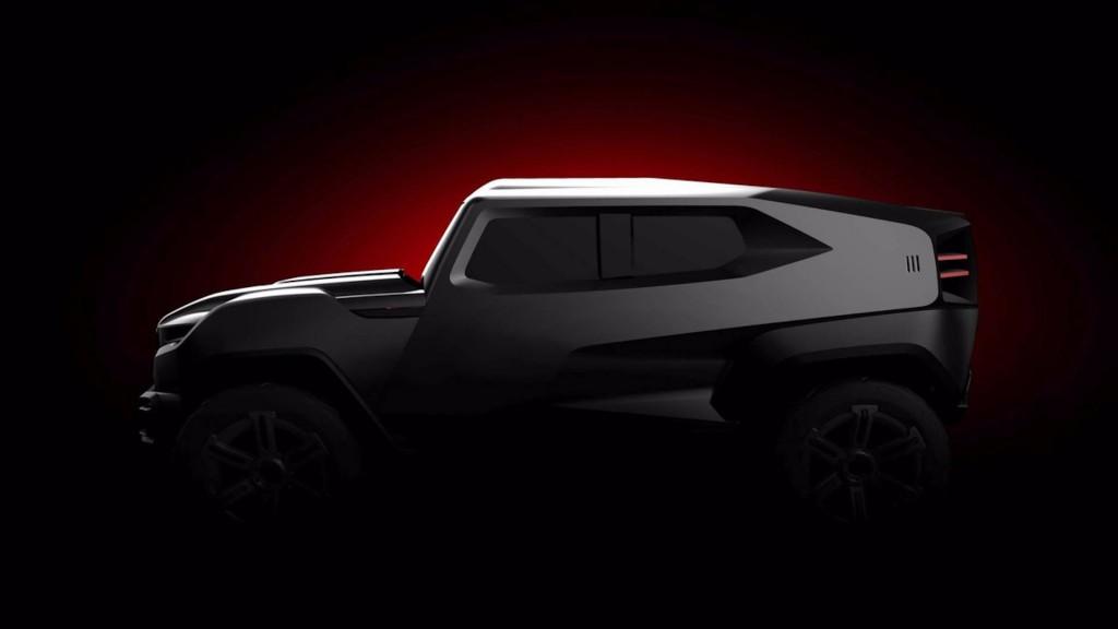 Teaser for Rezvani SUV debuting in 2017