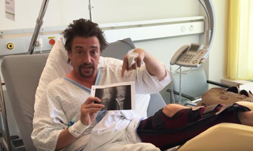 Richard Hammond posts video following major crash in Rimac ...