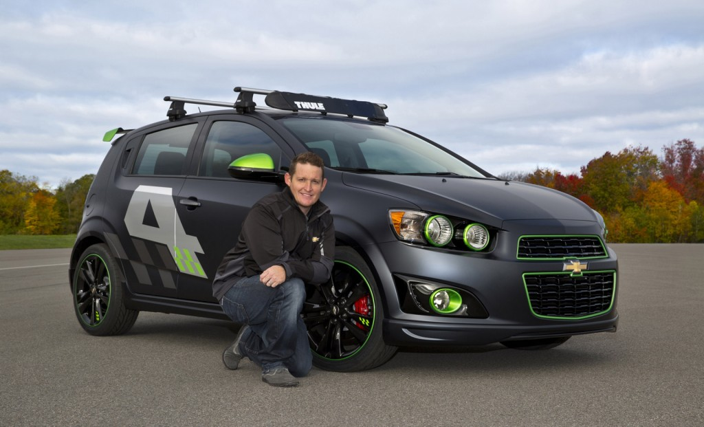 Chevrolet Ricky Carmichael All-Activity Sonic concept, 2013 SEMA
