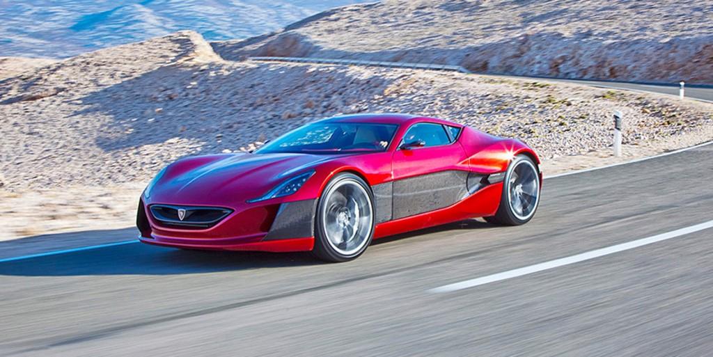 Rimac Concept One Electric Supercar Vs Ferrari Guess Who Wins