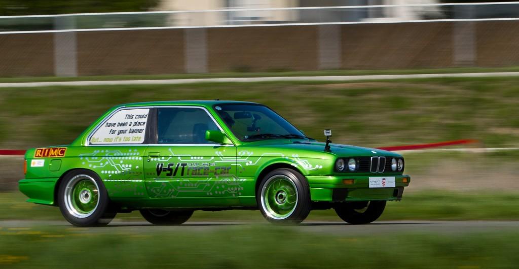 Rimac e-M3 'Green Monster' electric drag car