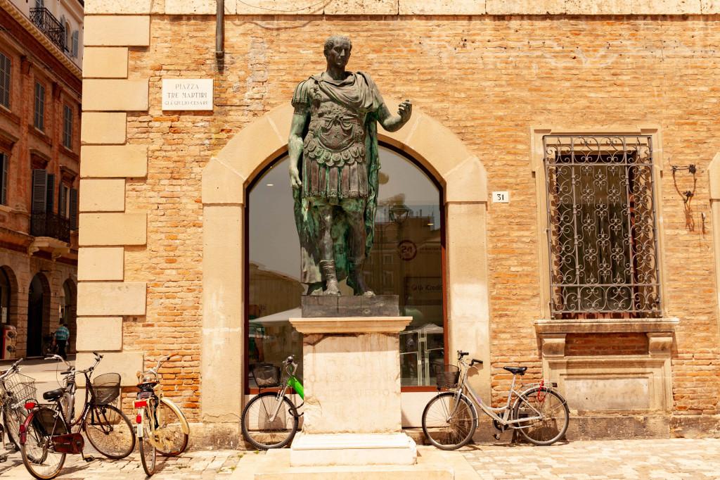Rimini, Italy (Crossing the Rubicone)