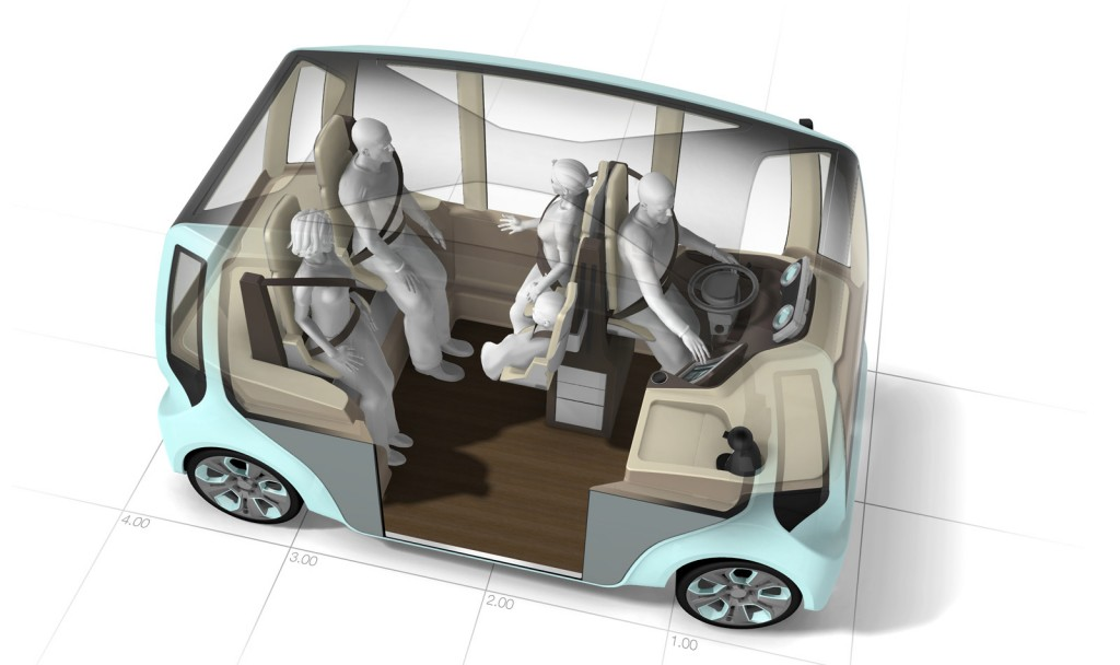 Rinspeed microMAX concept car