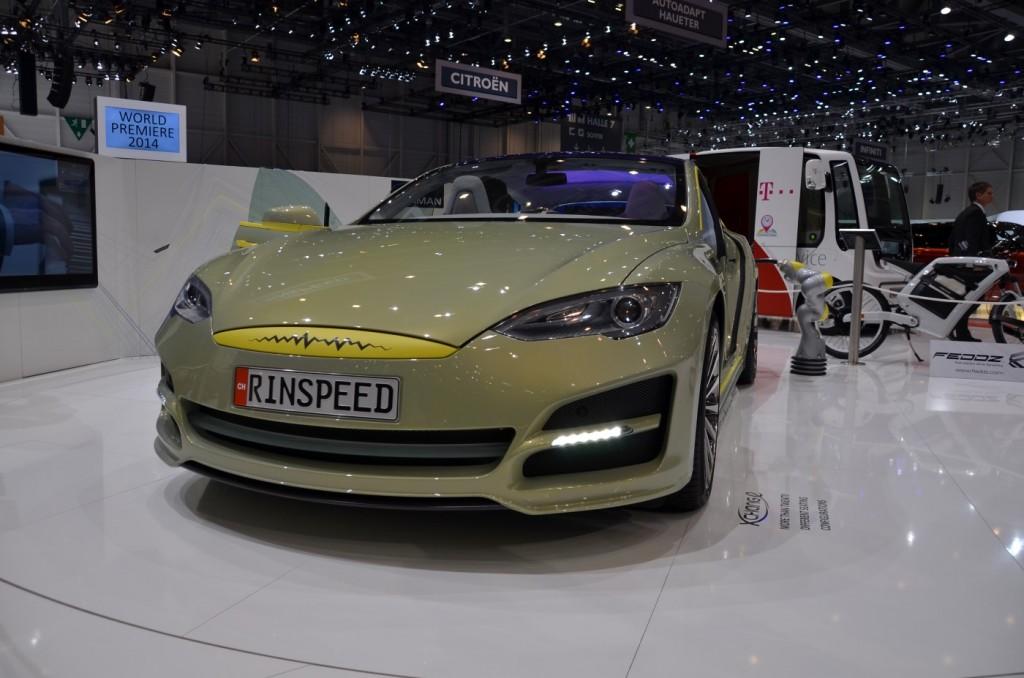 Image: Rinspeed XchangE concept - 2014 Geneva Motor Show ...