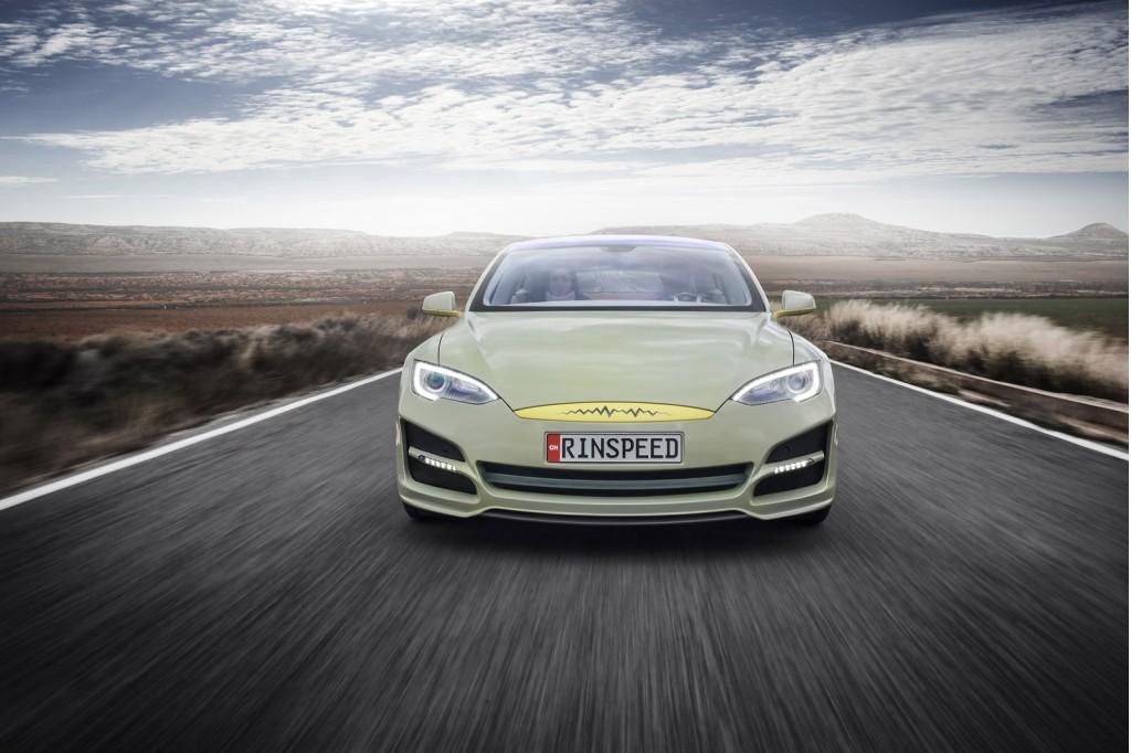 Rinspeed XchangE concept, 2014 Geneva Motor Show