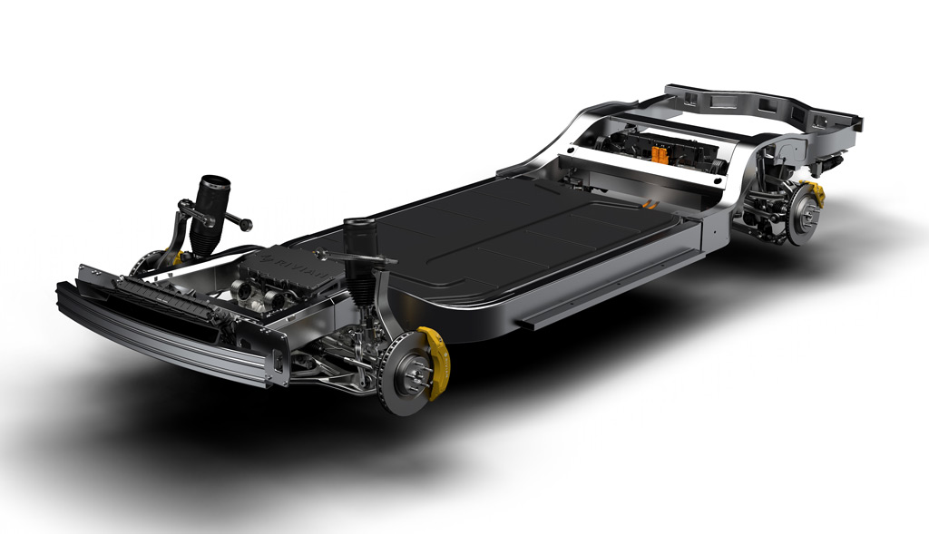 Rivian electric car platform
