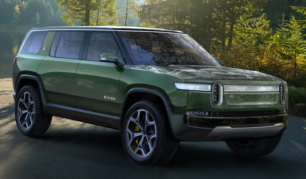Rivian R1S to have four roof options