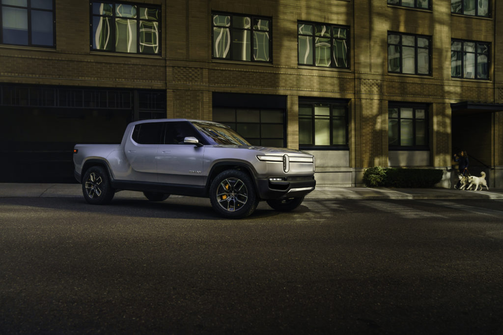 Rivian R1t All Electric Pickup Revealed 400 Mile Range 160 Kw Dc Fast Charging