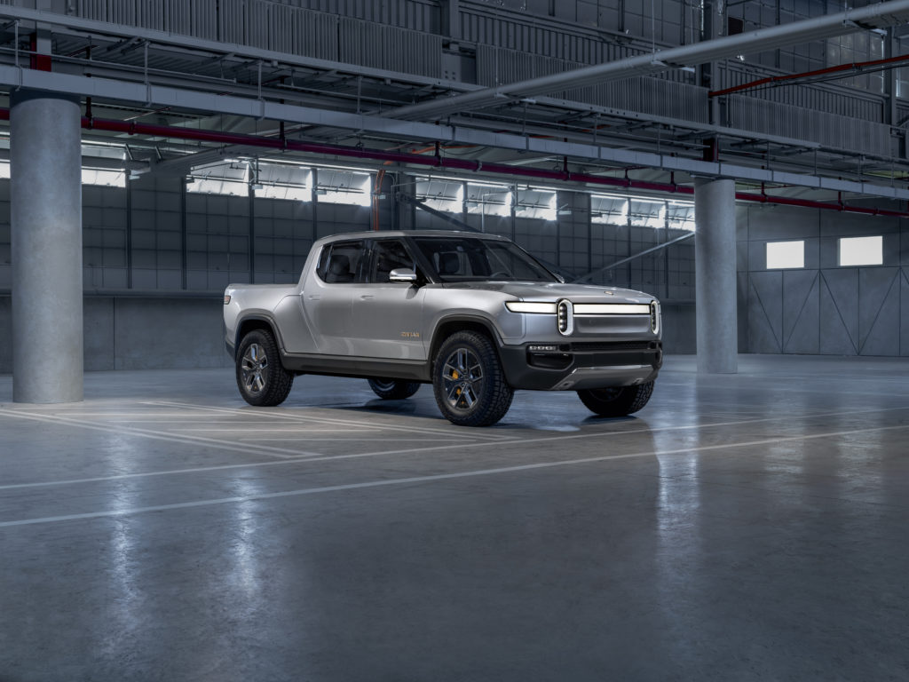Rivian R1t Electric Pickup Revealed Ahead Of 2018 La Auto Show R1s Suv Coming Too