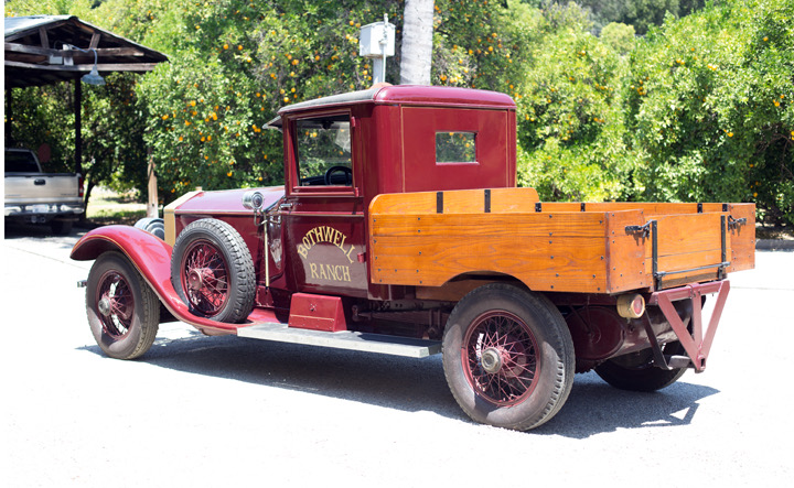 World S Only Rolls Royce Pickup Truck Going To Auction