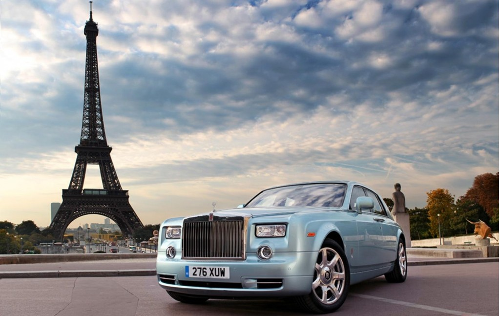 Rolls Royce Phantom 102EX World Tour