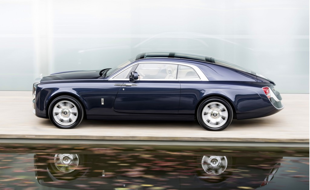 "Rolls-Royce might call its next one-off vehicle the ""Boat Tail"""
