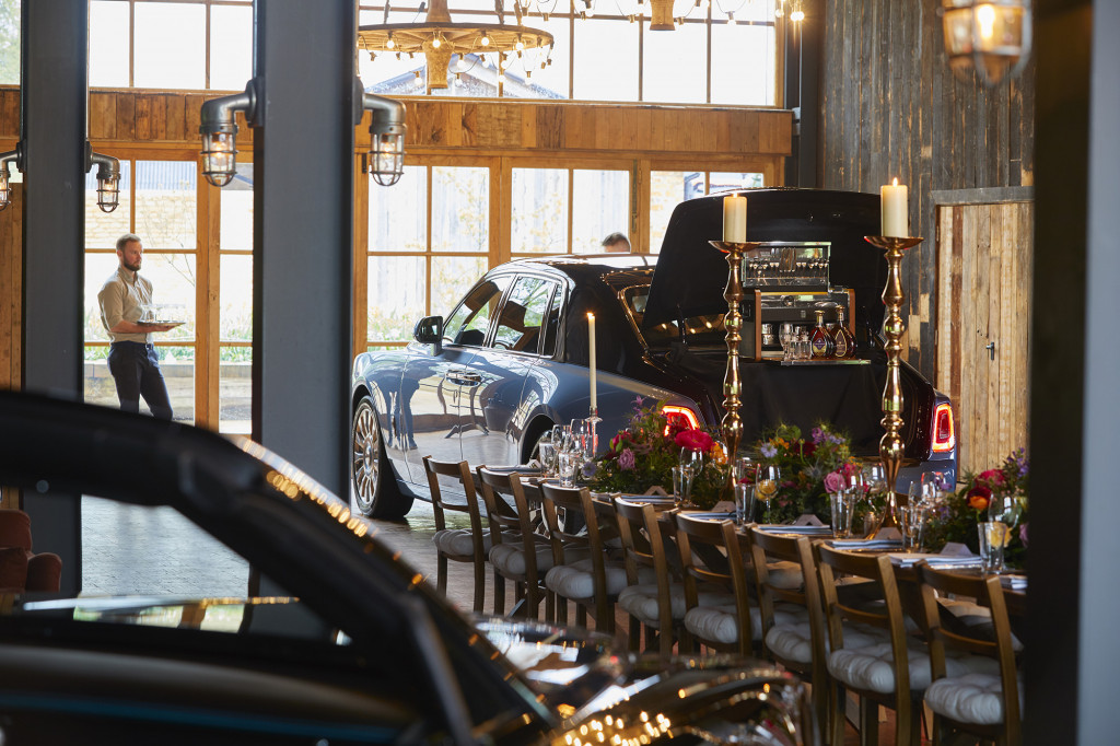 "Rolls-Royce hosts a ""Cars and Cognac"" event"