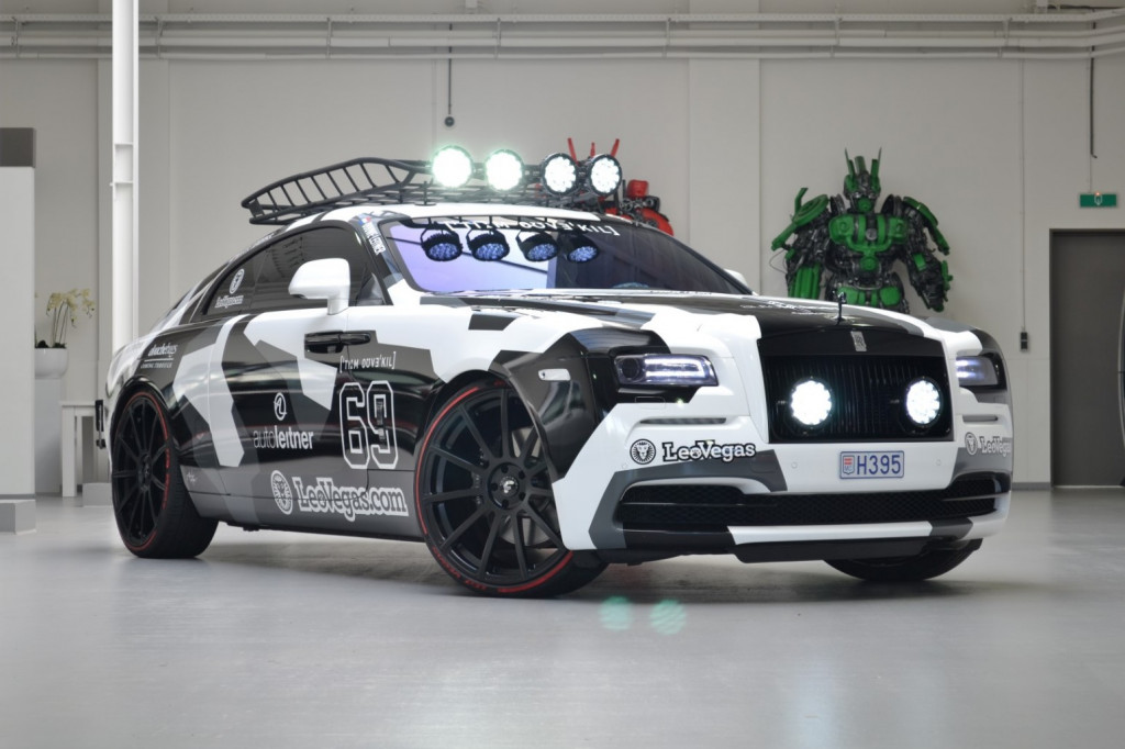 Jon Olsson's 810-hp Rolls-Royce Wraith is up for sale