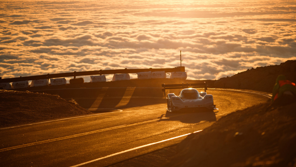 VW ID R electric racer smashes Pikes Peak record
