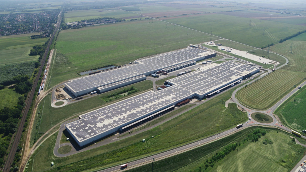 Rooftop solar in Gyor, Hungary - Audi plant