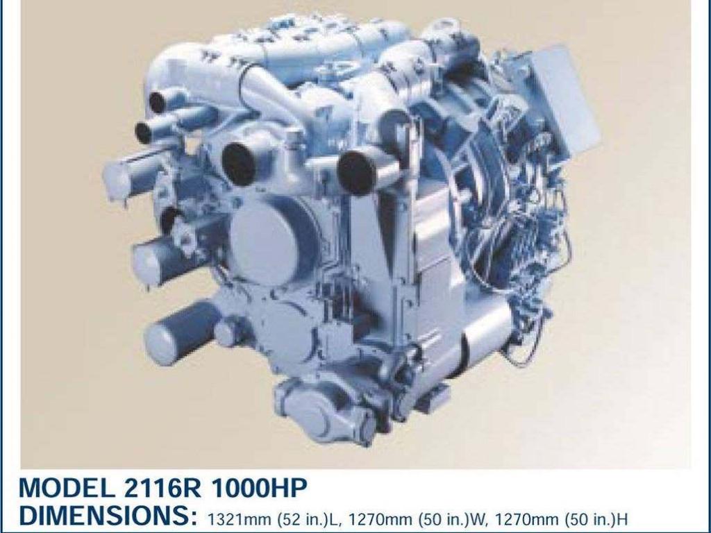 Rotary Power International Model 2116R rotary engine