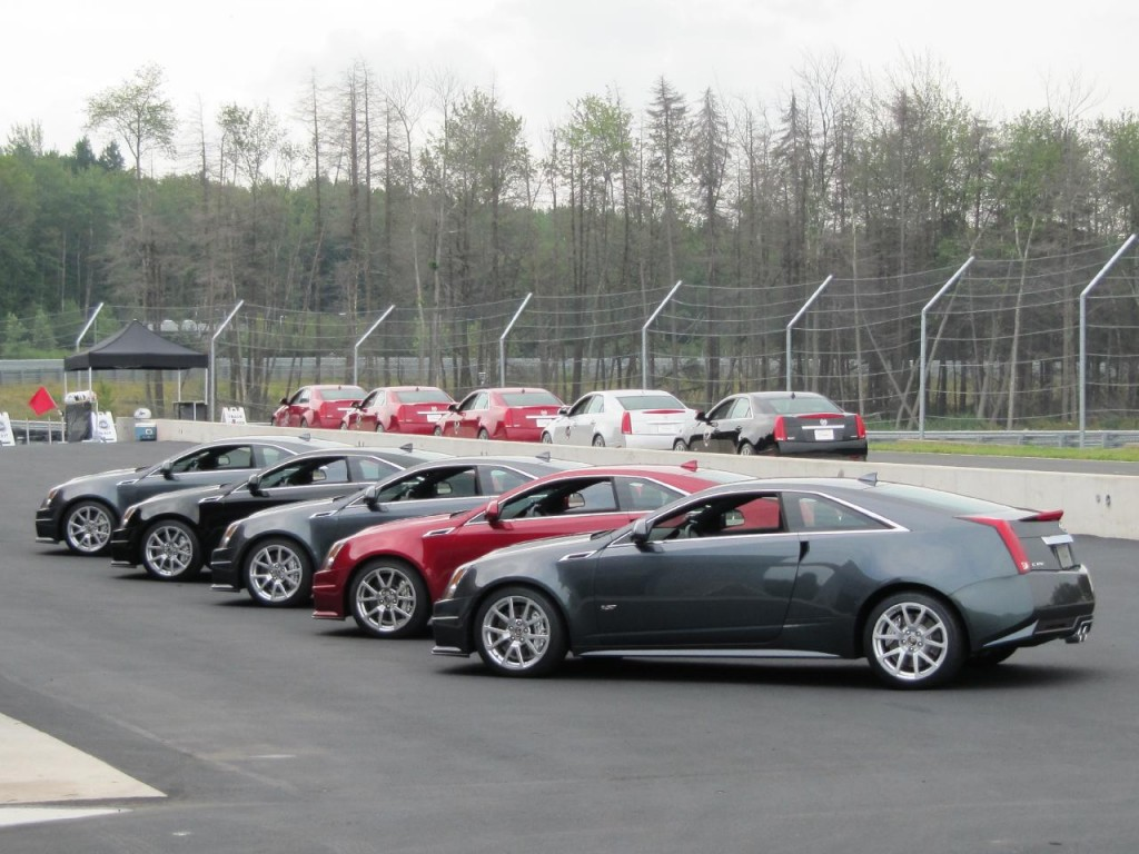 Image Row Of 2011 Cadillac Cts V Coupes At Monticello
