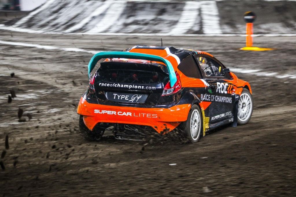 RX Supercar Lite at the Race of Champions