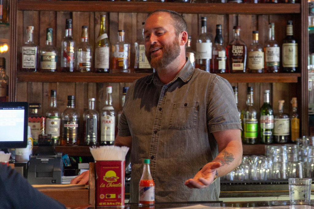 Ryan Maxey, owner of Naked Lunch (Aaron Cole/Motor Authority)