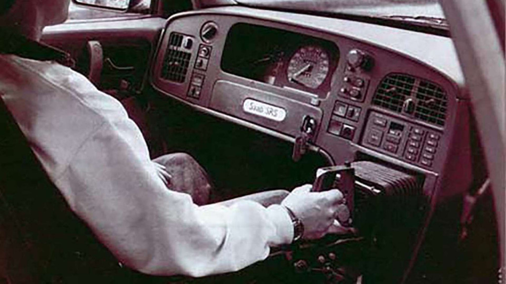 Born from jets: Saab once built a car with a joystick