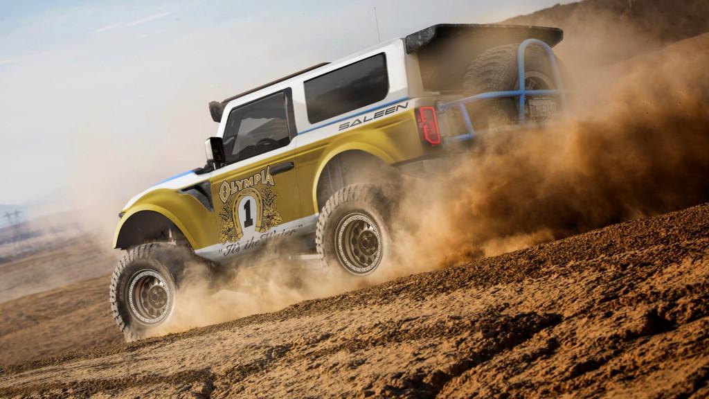 Saleen Ford Bronco rendering