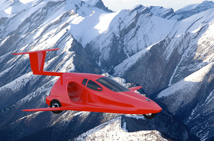 Oregon's Samson Sky says it has 800 reservations for flying car
