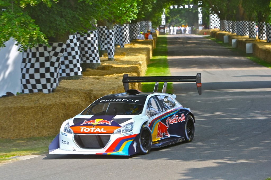 Loeb And Peugeot Pikes Peak Car Set For Record Goodwood Hill Climb Run