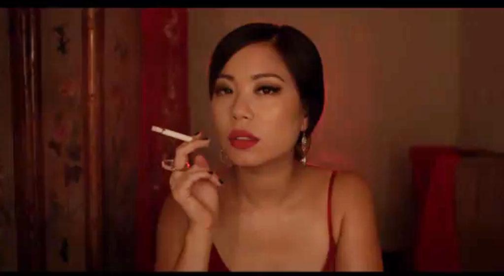Scene from Lexus short film 'Echoes'