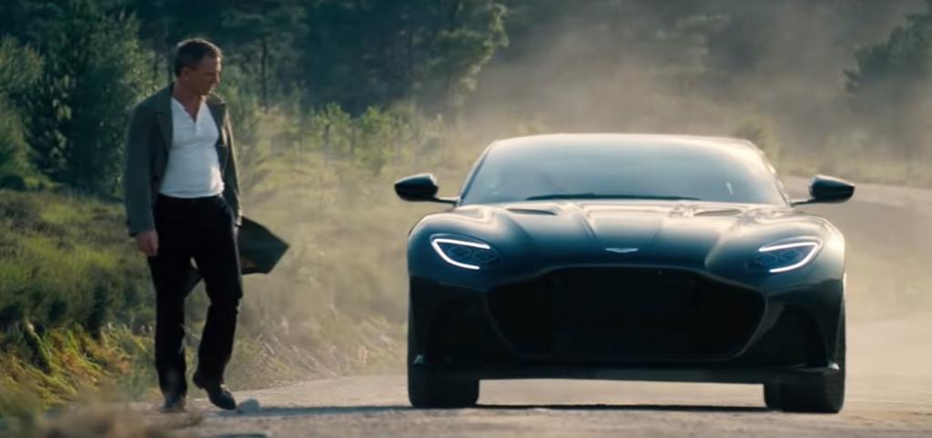 Trailer for new James Bond movie packs plenty of Aston Martins