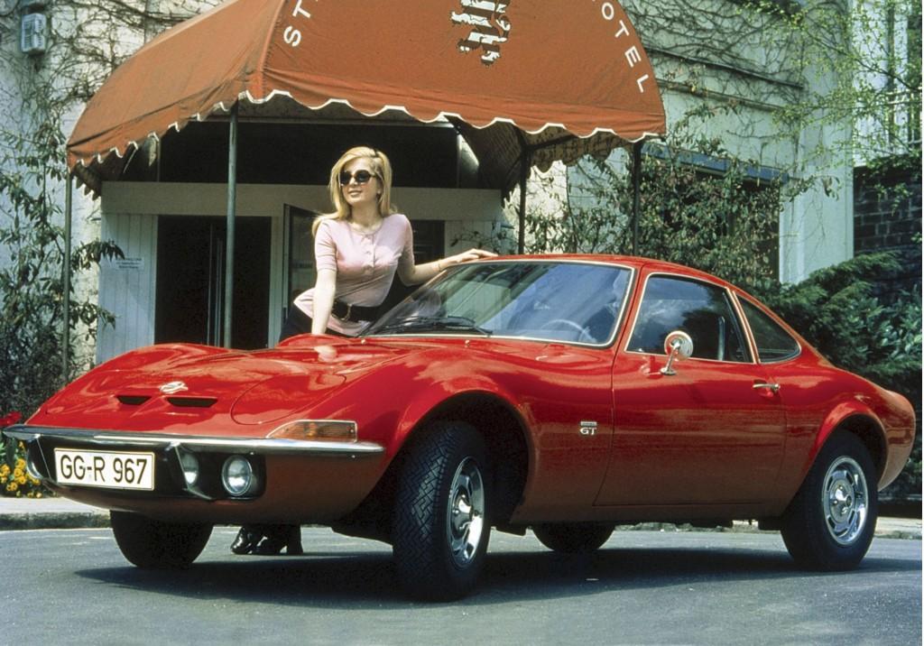 Scenes from Opel's history - the 1968 Opel GT