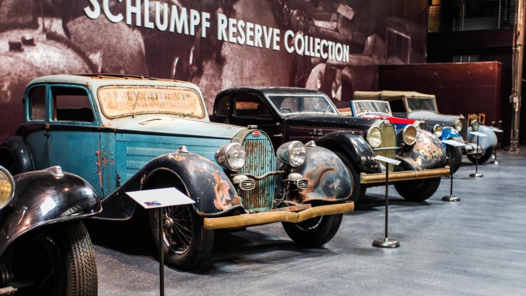 Schlumpf Bugatti collection
