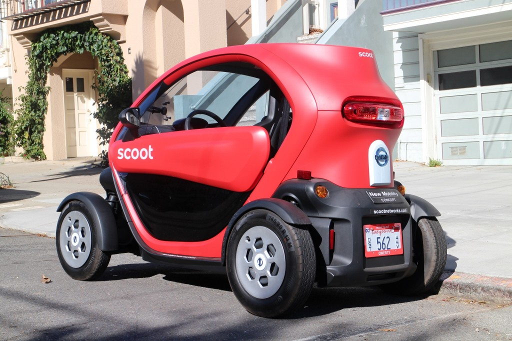 Image: Scoot Quad (nee Renault Twizy) tested in San ...
